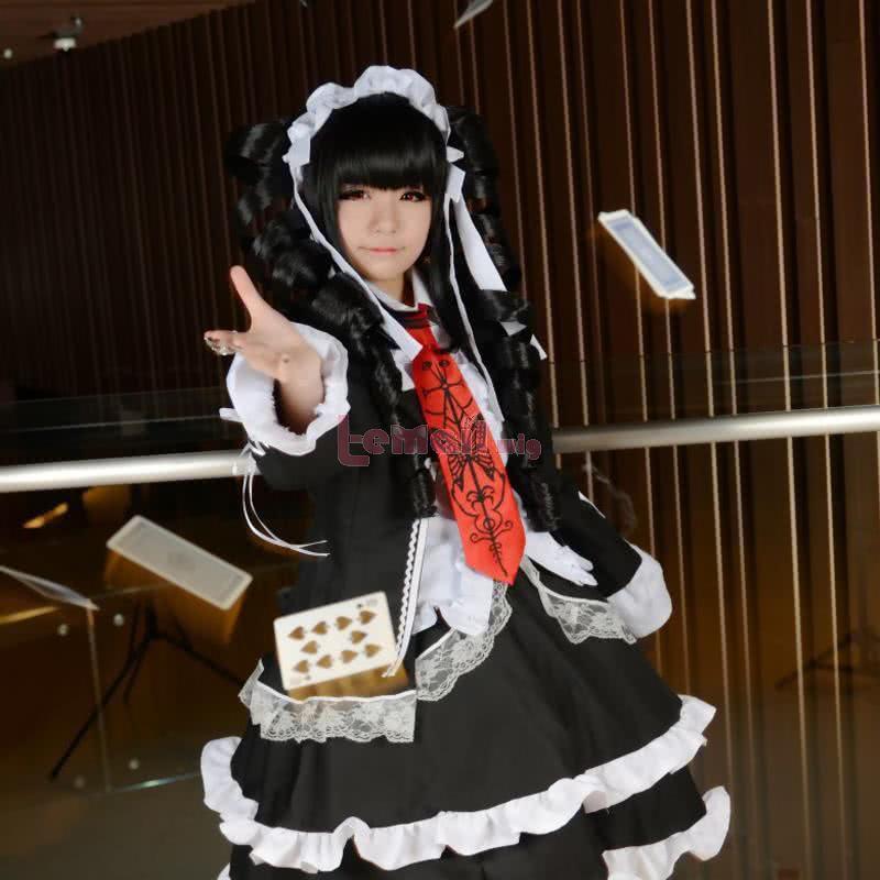 Danganronpa Celestia Ludenberg Dress Uniform Fullset Cosplay Costume