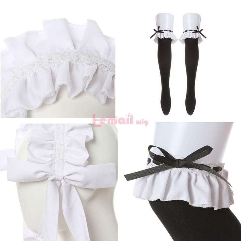 Danganronpa Celestia Ludenberg Dress Uniform Fullset Cosplay Costume Details