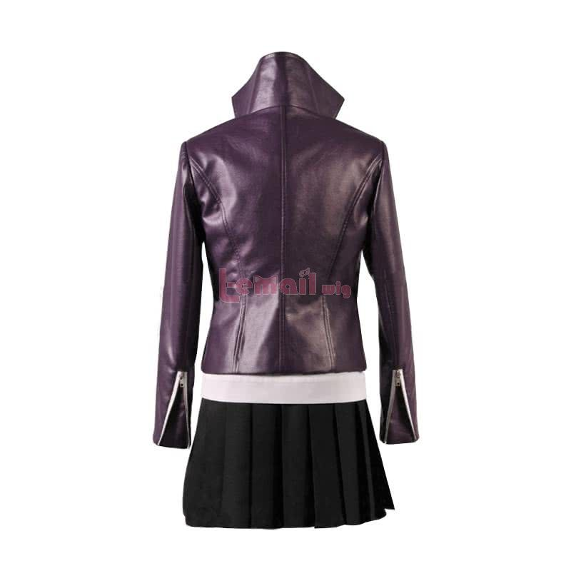 Danganronpa Kirigiri Kyouko Deep Purple Short Dress Suits Cosplay Costume