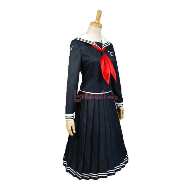 DanganRonpa Toko Fukawa Uniform Cosplay Costume