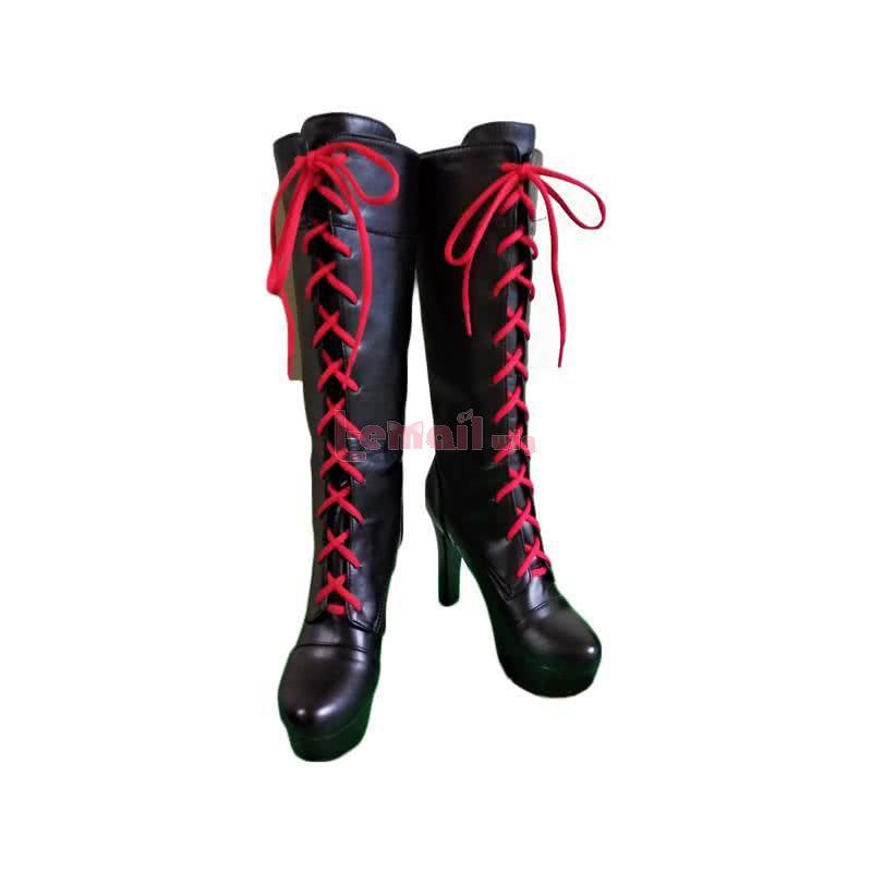 Danganronpa Trigger Happy Havoc Enoshima Junko High Knee Boot Cosplay Shoes