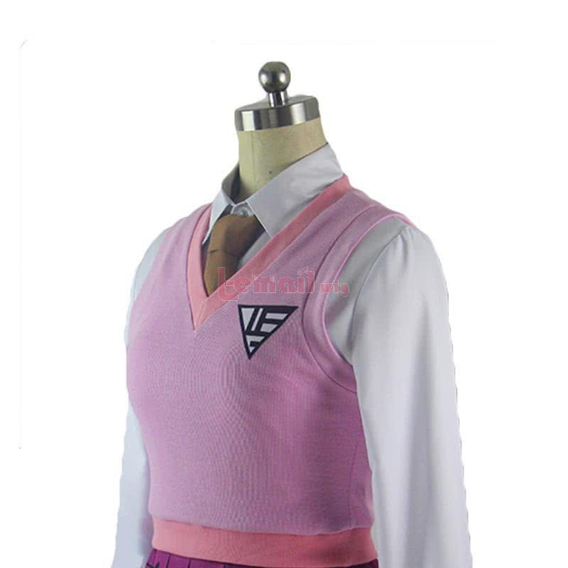 Danganronpa V3 Akamatsu kaede Uniform Fullset Cosplay Costume