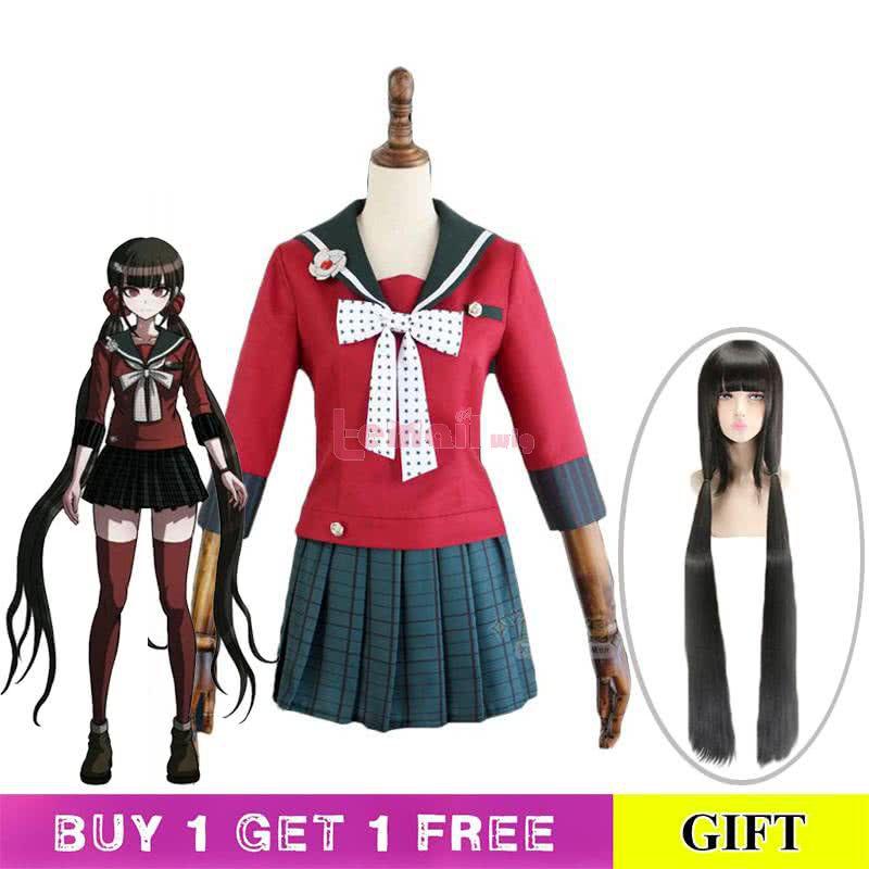 Danganronpa V3 Harukawa Maki Uniform Fullset Cosplay Costume
