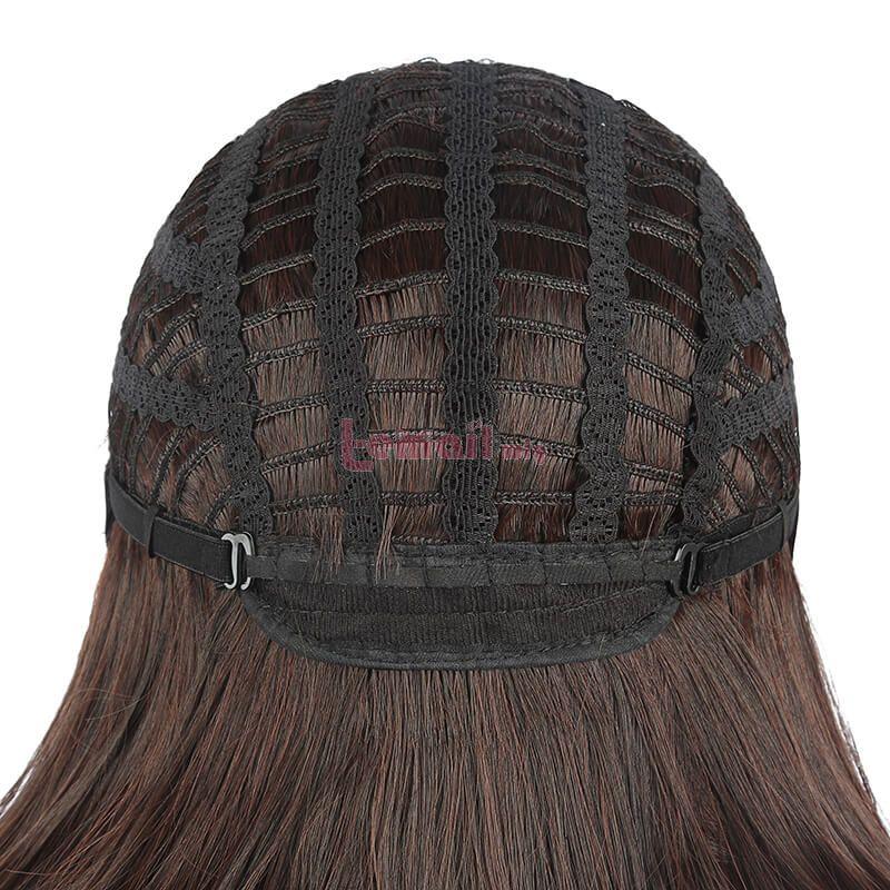 Date A Live Kurumi Tokisaki Long Black Gradient Ponytail Cosplay Wigs