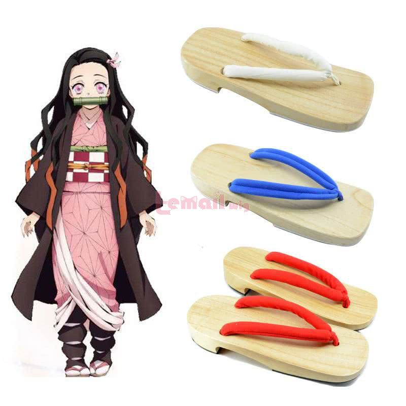 Demon Slayer / Kimetsu no Yaiba 3 Color Clogs Cosplay Shoes