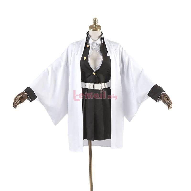 Demon Slayer Kimetsu no Yaiba Kanroji Mitsuri Uniform Fullset Cosplay Costume