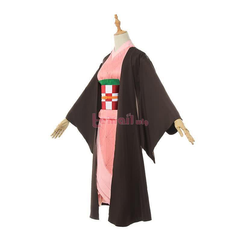 Demon Slayer Kimetsu no Yaiba Nezuko Cosplay Costumes