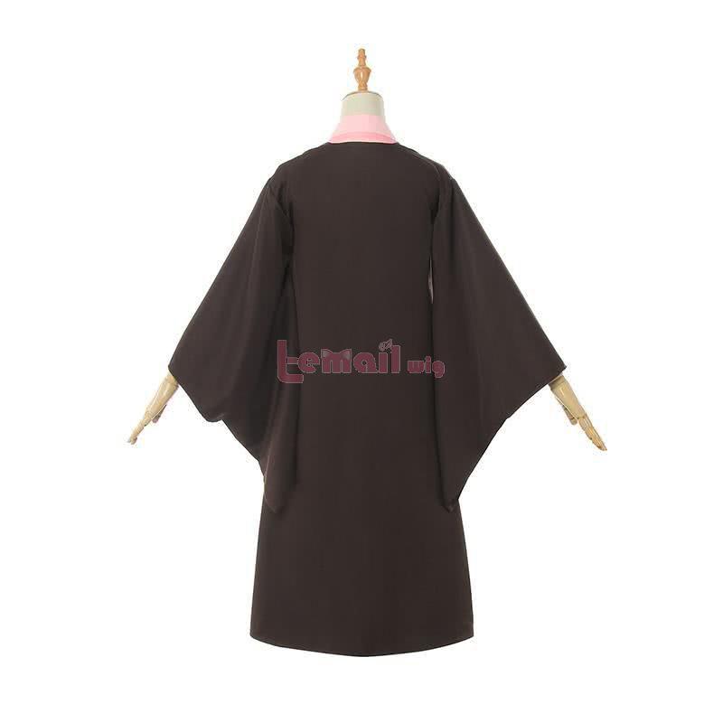 Demon Slayer / Kimetsu no Yaiba Nezuko Kamado Fullset Kimono Cosplay Costumes