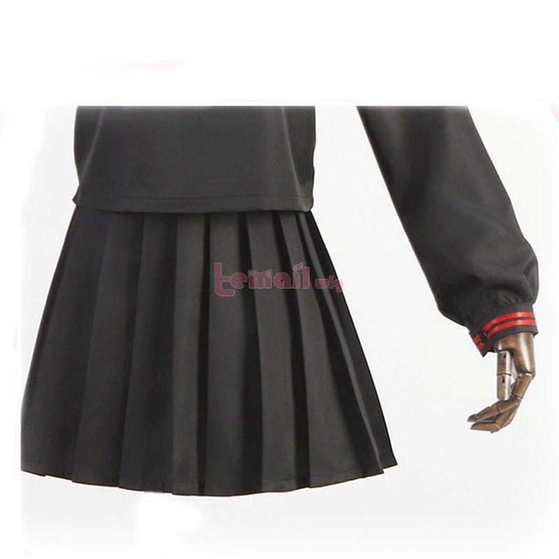Demon Slayer Nezuko Kamado School Uniform Cosplay Costume