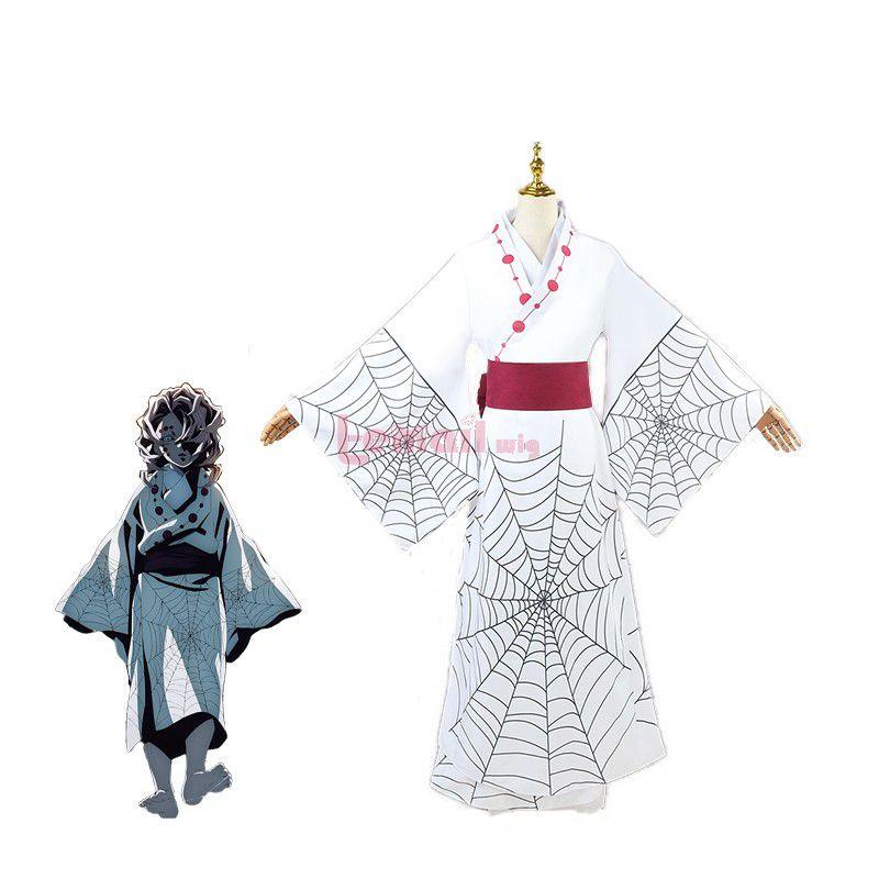 Demon Slayer Rui Fullset Uniform Cosplay Costume