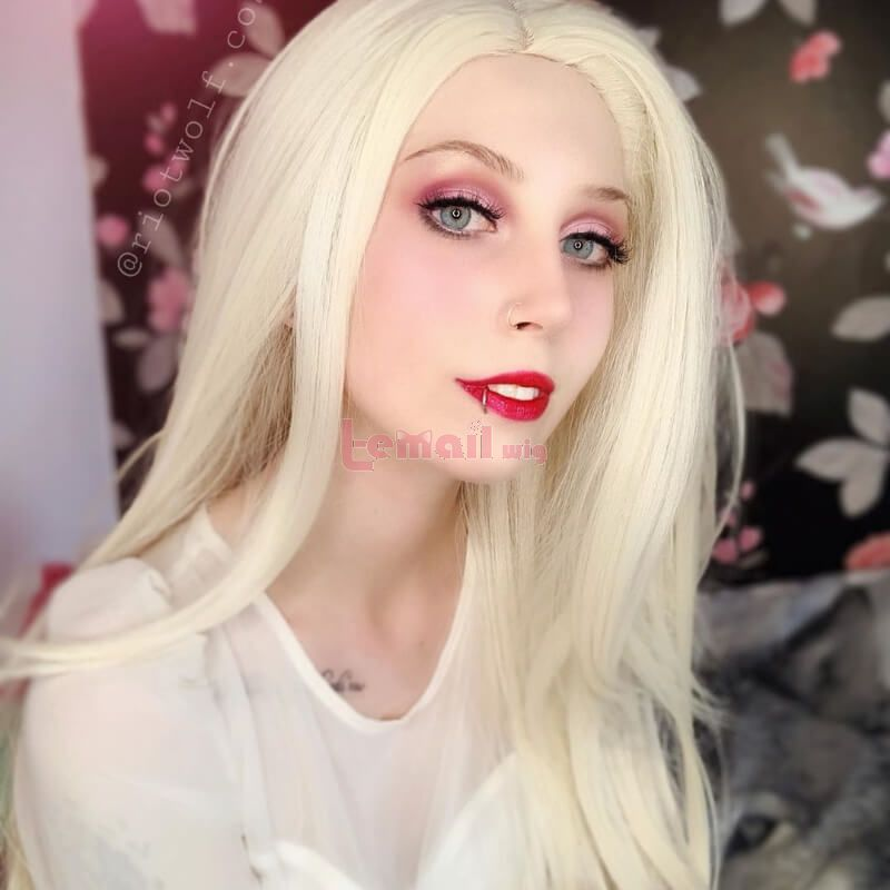 Elsa Cosplay Wigs Blonde