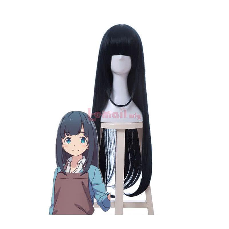 Anime Eromanga Sensei Tomoe Takasago Long Women Cosplay Wigs