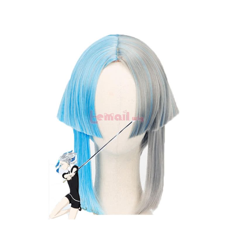 Anime Land of the Lustrous Euclase Houseki no Kuni Cosplay Wigs