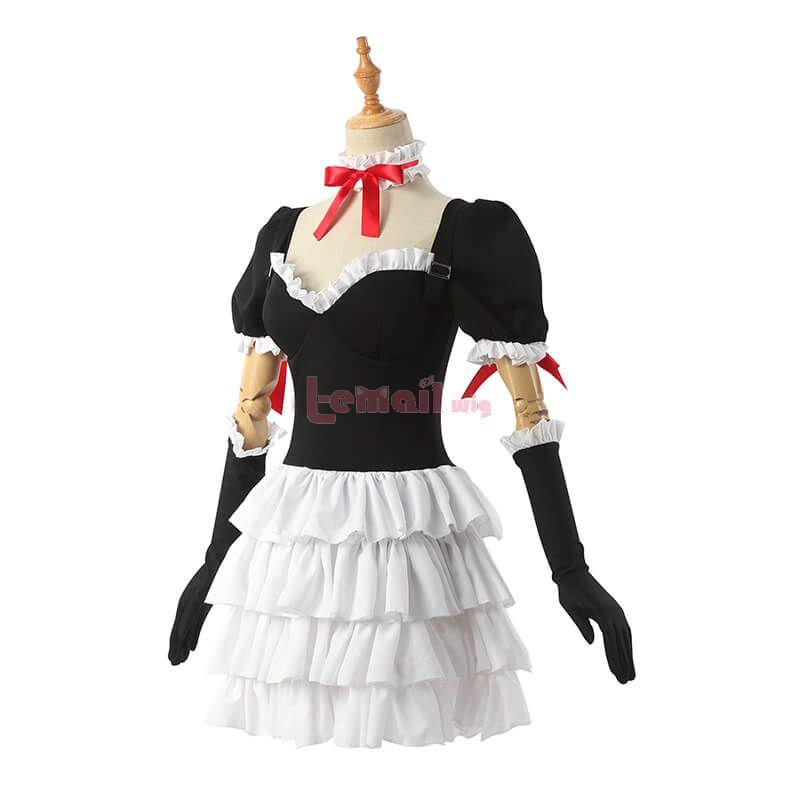 EVA Asuka Langley Soryu Lolita Dress Cosplay Costume