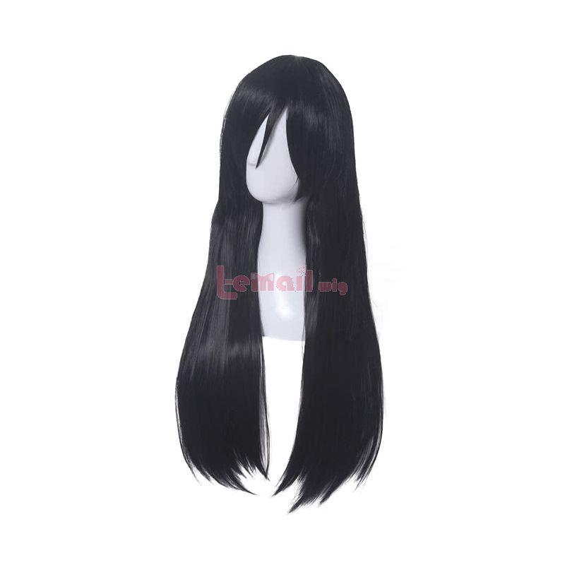 Miss Kobayashi's Dragon Maid Fafnir Long Black Anime Cosplay Wigs