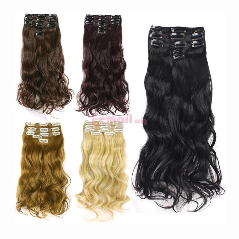 L-email Wig 5 Colors False Hair