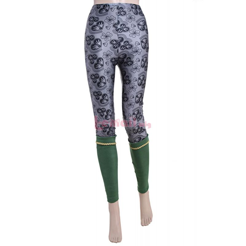Fashion Women Grey Elastic Pants Girls Gymnastic Tight Trousers