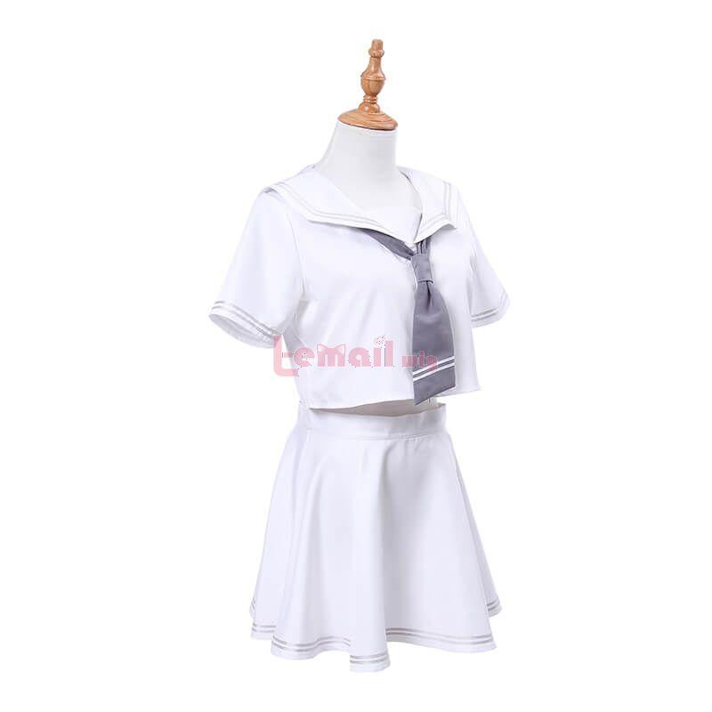 Fate Grand Order Ruler Jeanne d'Arc Cosplay Costume Sailor Uniform White