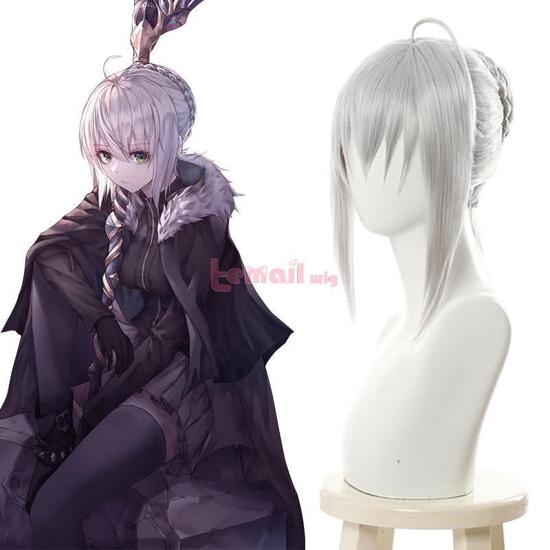 FateGrand Order Lord El-Melloi II Case Files Gray Silver Gray Cosplay Wigs