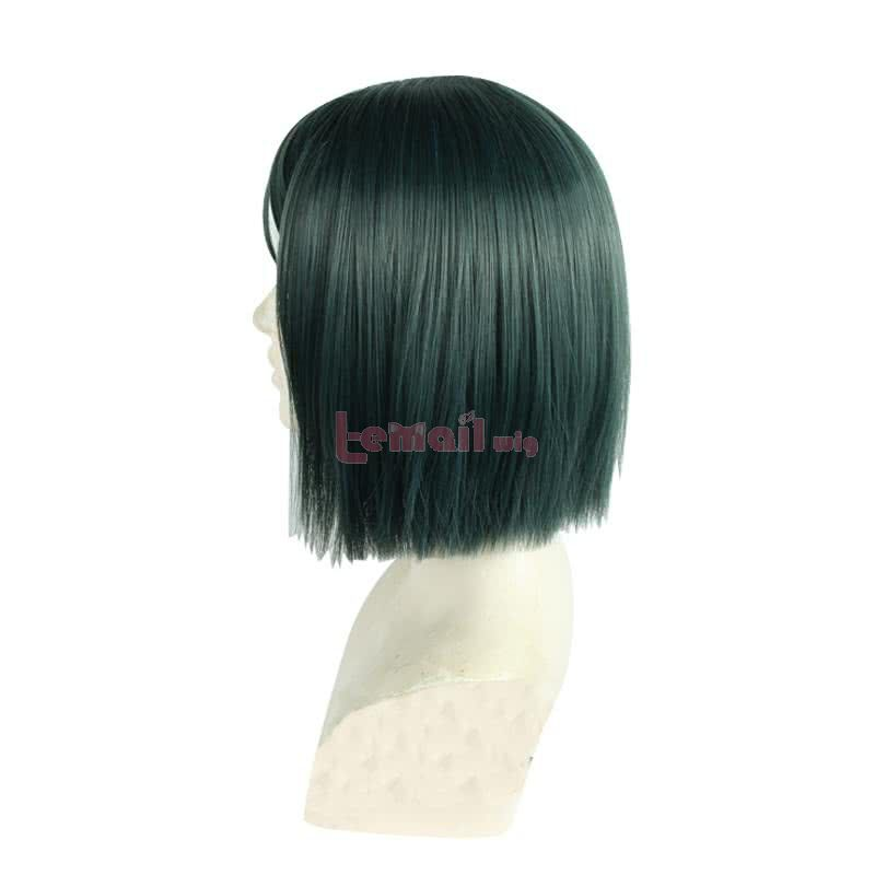 Fate/Grand Order Waver Velvet Short Straight Turquoise Bob Cosplay Wigs