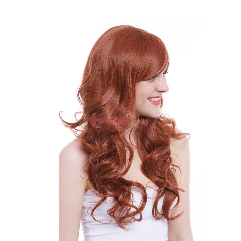 brown synthetic wigs