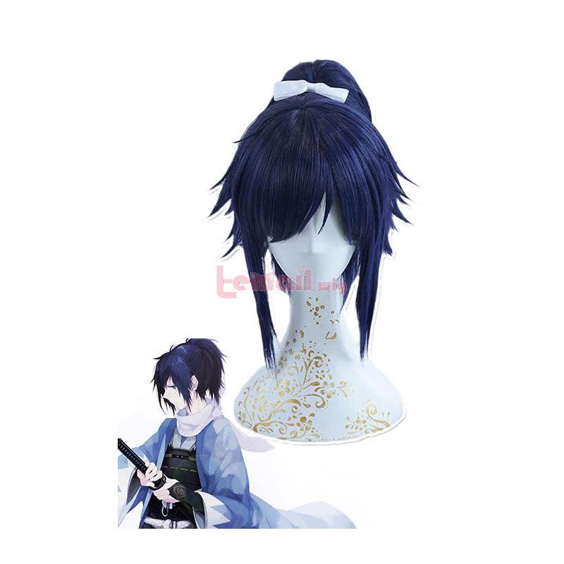 Touken Ranbu Yamato No Kami Yasusada Ponytail Cosplay Wigs