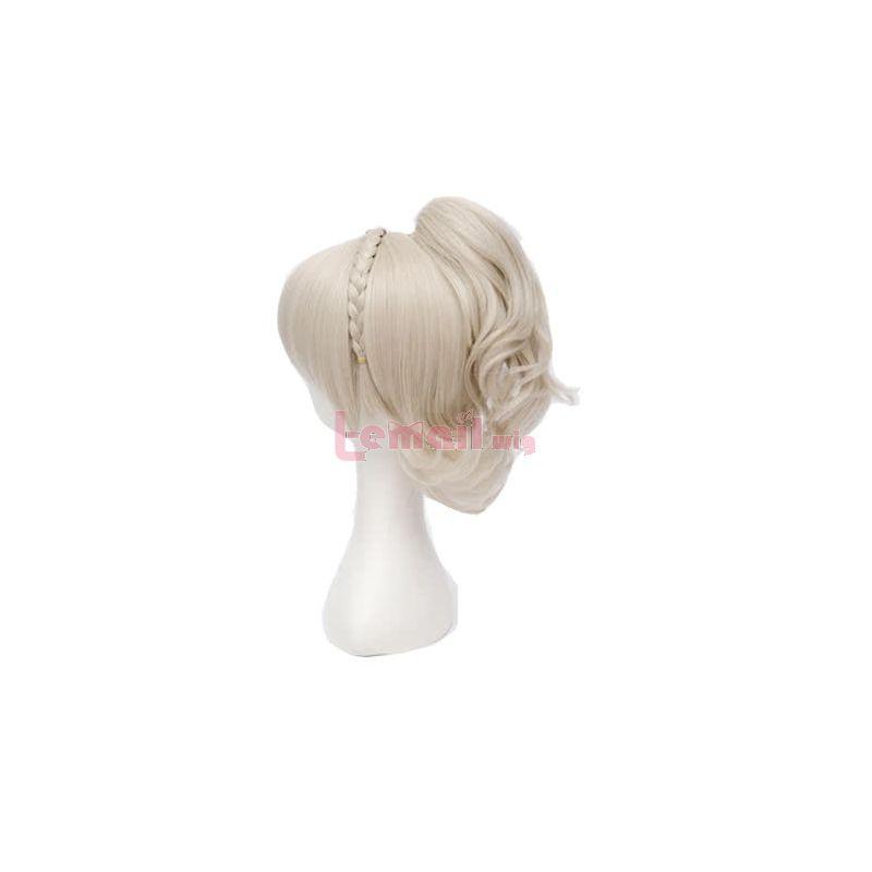 Game Final Fantasy XV Lunafreya Nox Fleuret Blonde Women Cosplay Wigs