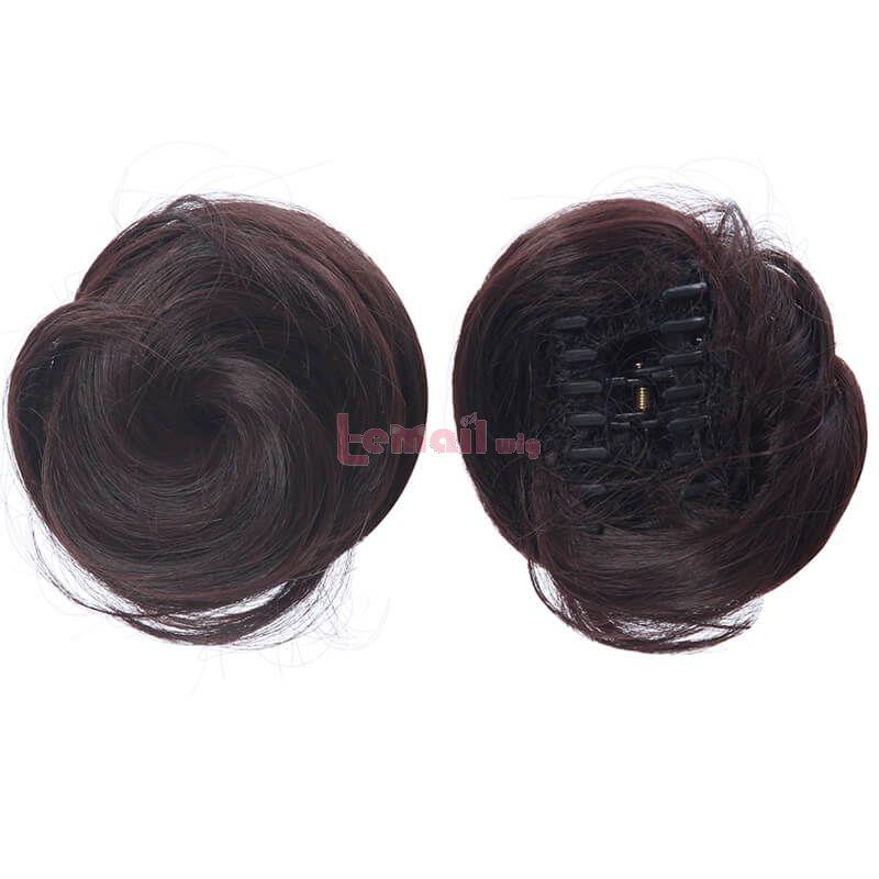 Game Genshin Impact Beidou Long Straight Brown Cosplay Wigs
