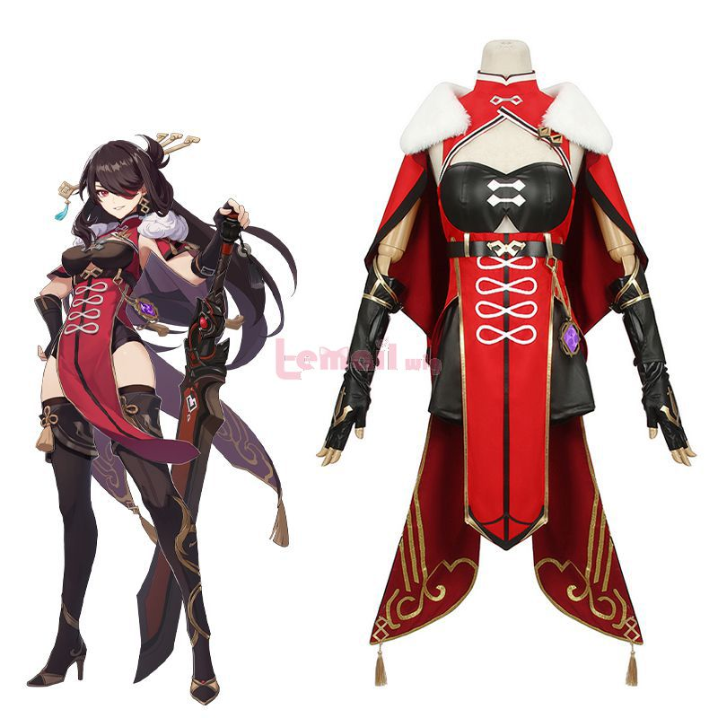 Game Genshin Impact BeiDou Skin Halloween Women Dress Cosplay Costume