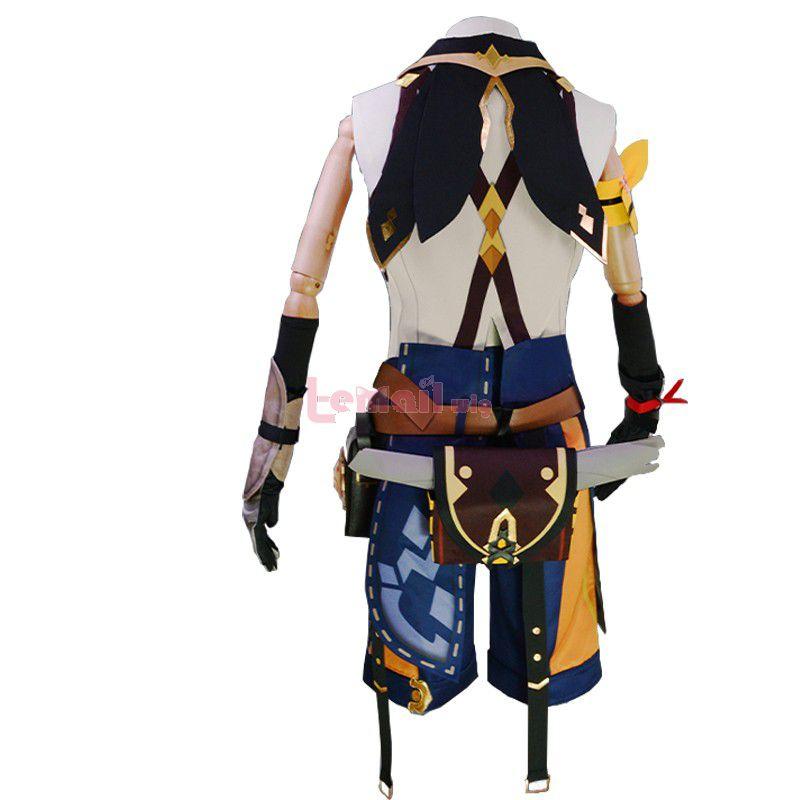 Game Genshin Impact Bennett Skin Cosplay Costume