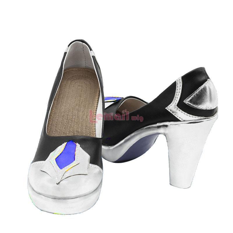 Game Genshin Impact Eula Cosplay Shoes