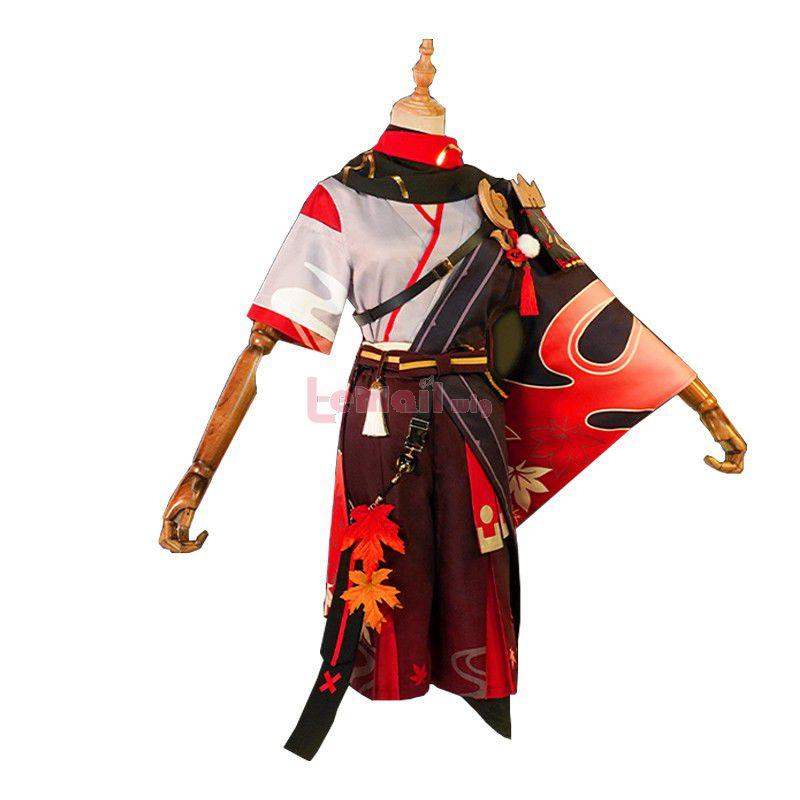 Game Genshin Impact Kazuha Skin Cosplay Costume