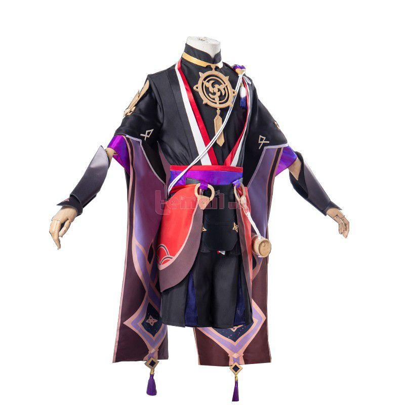 Game Genshin Impact Scaramouche Skin Cosplay Costume