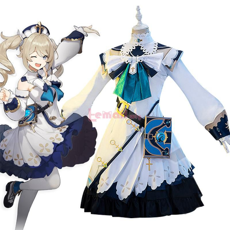 Game Genshin Impact Shining idol Fullset Cosplay Costume
