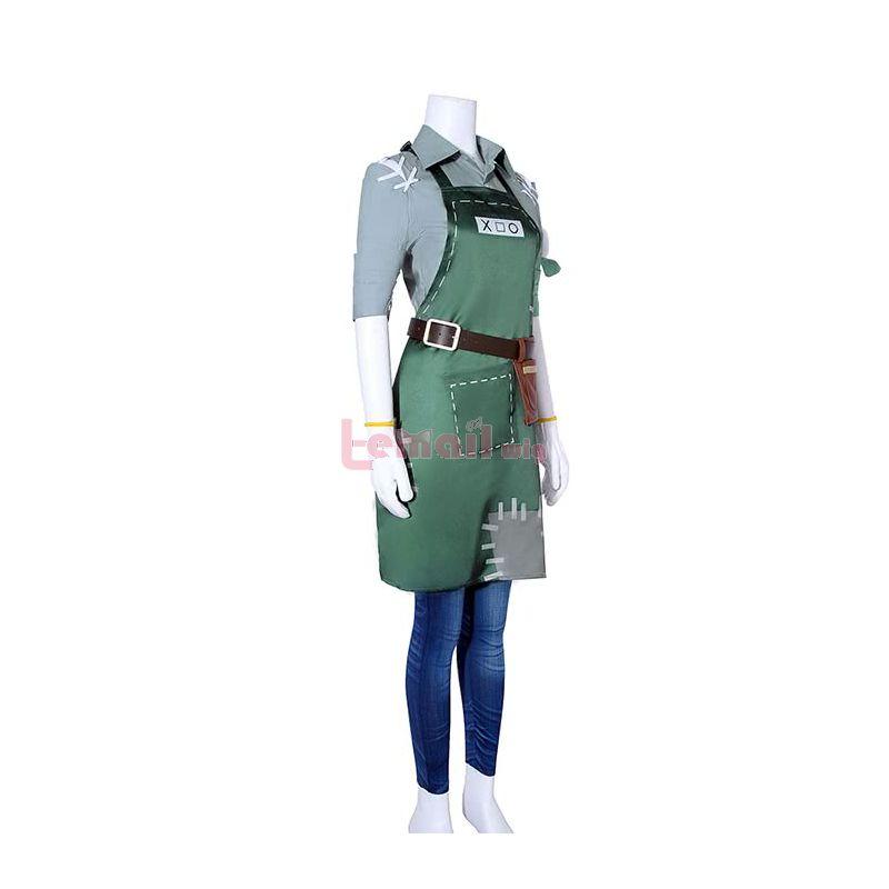 Game Identity V Gardener Emma Cosplay Costumes