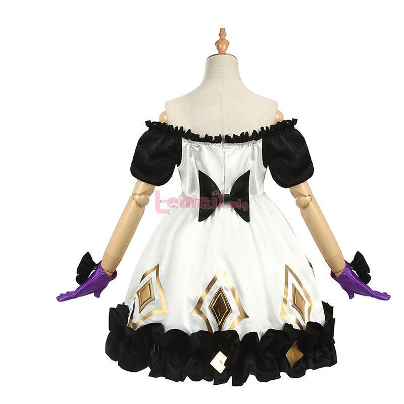 Game LOL Gwen Dress Outfits Women Cosplay Costume