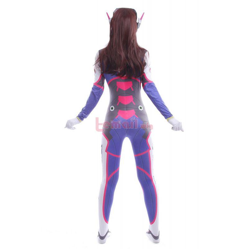 D.Va Costume Cosplay Suit Hana Song Video Game Leotard Jumpsuits Cosplay Costumes
