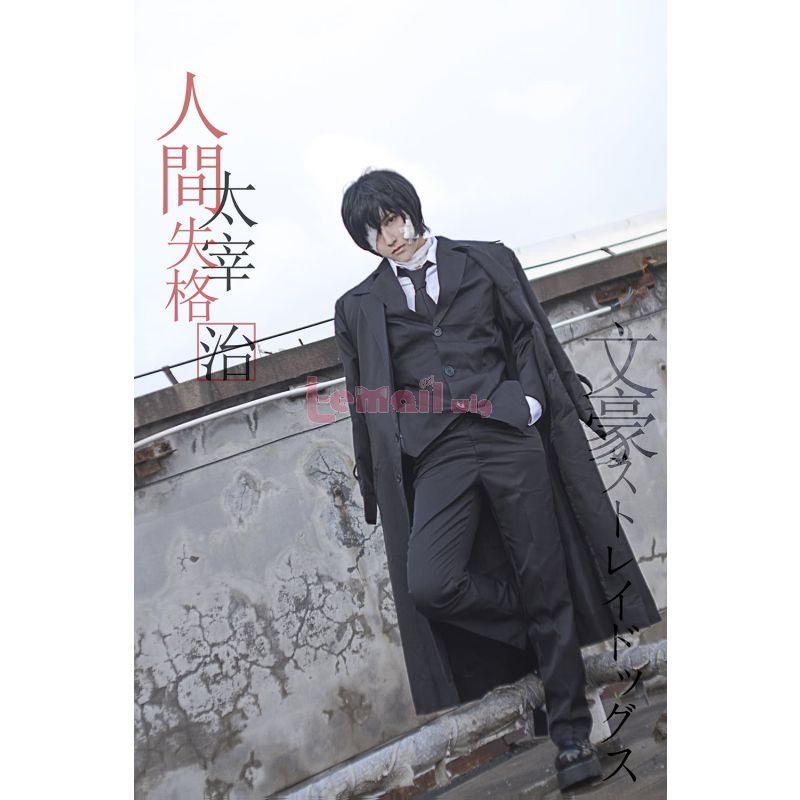 Anime Bungou Stray Dogs Armed Detective Osamu Dazai Men Cosplay Costumes GC276A