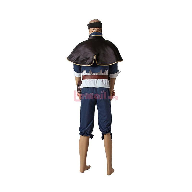 Anime Black Clover Asta Cosplay Costume