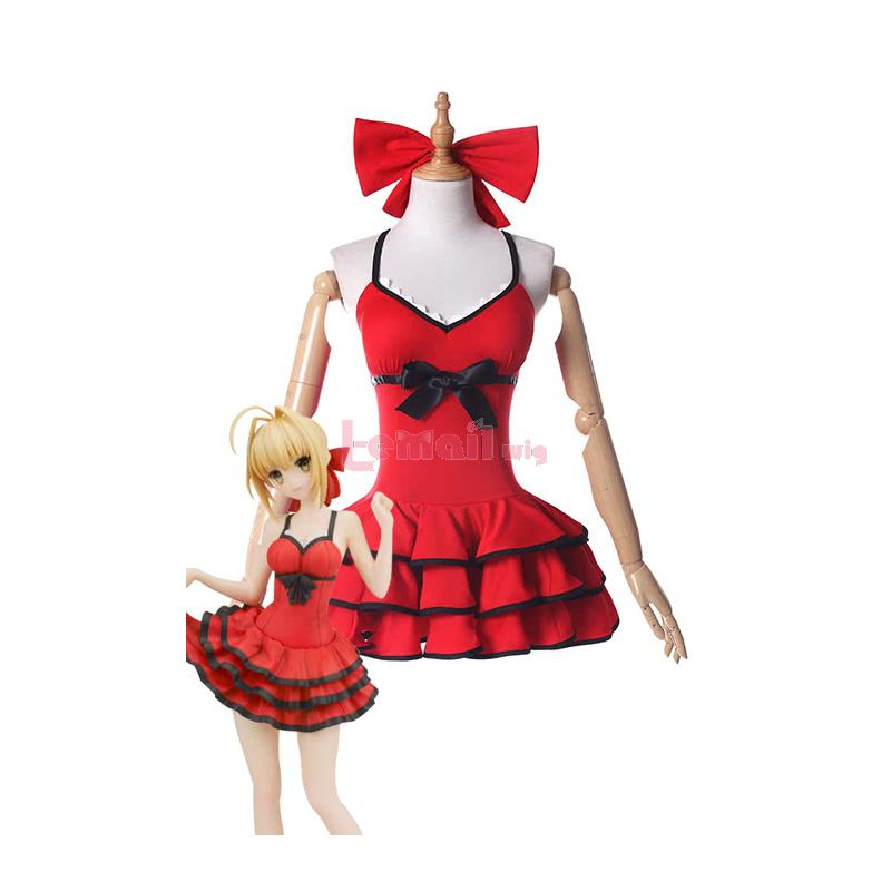 FLARE Fate/EXTRA CCC Japanese Cosplay Costume GC394A