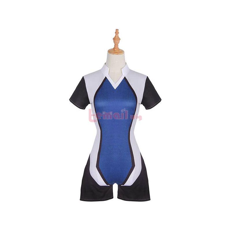 Cartoon Light Feathers Rise Hazaki Kano Jumpsuit Cosplay Costume