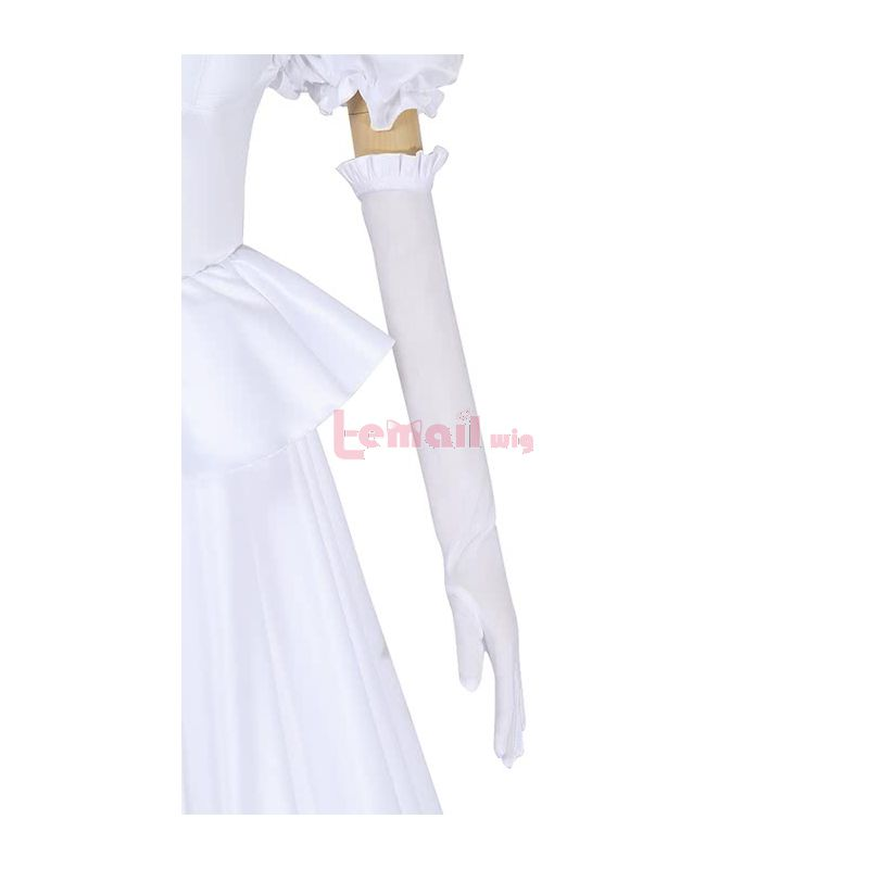 Super Mario Boosette White Dress Cosplay Costume