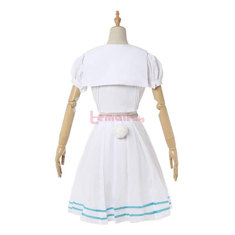 Beastars Haru White Dress School Uniform Cosplay Costume