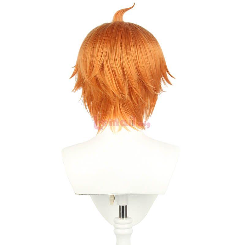 Genshin Impact Tartaglia 30cm Short Brown Men Cosplay Wigs