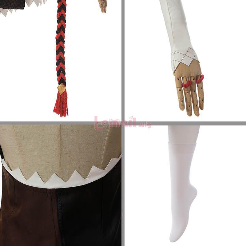 Genshin Impact Xinyan Fullset Cosplay Costume
