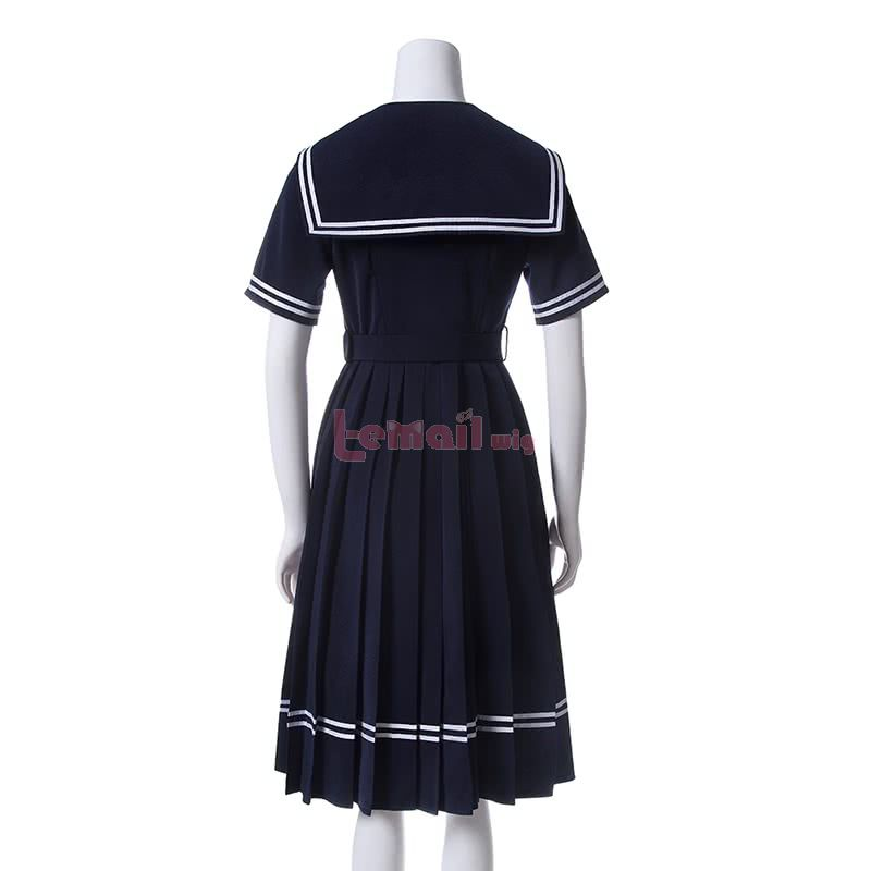 Girl Cute Sailor Suit Cosplay Costume School Uniform