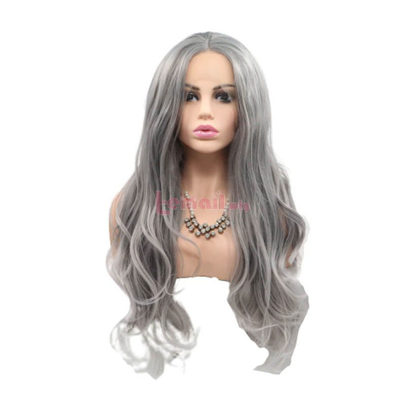 Grey Lace Front Wigs