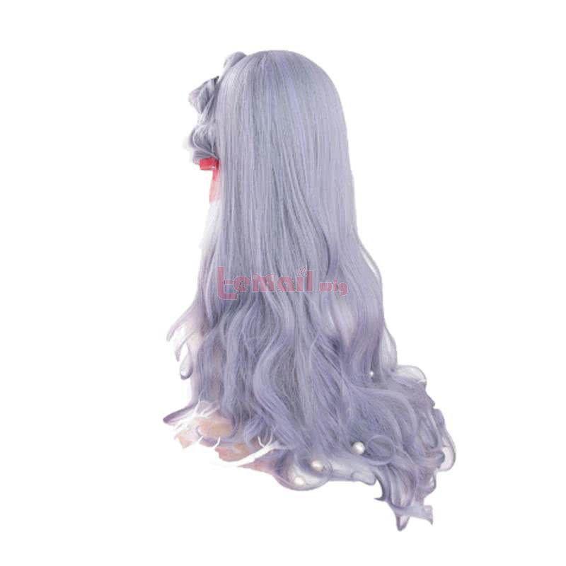 Halloween 70cm Long Curly Lolita Wigs Mixed Color Harajuku Cosplay Wigs