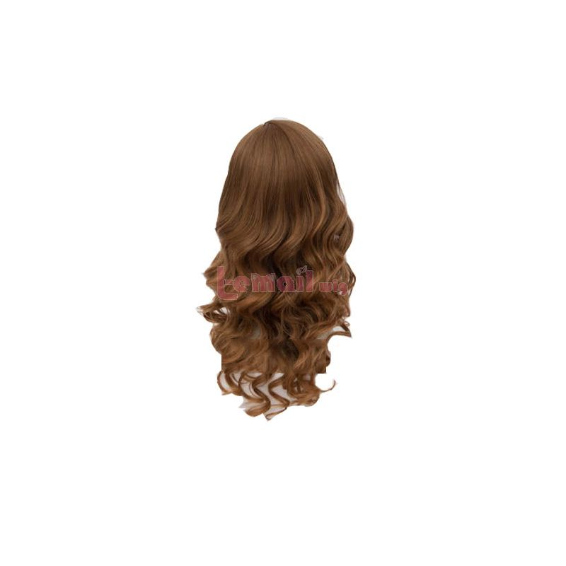 Harry Potter Hermione Jean Granger Brown Curly Cosplay Wigs