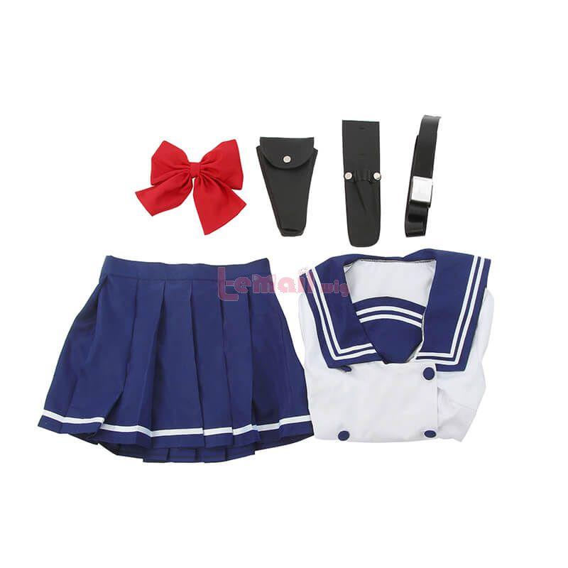 High-Rise Invasion Yuri Honjou School Uniform Fullset Cosplay Costume